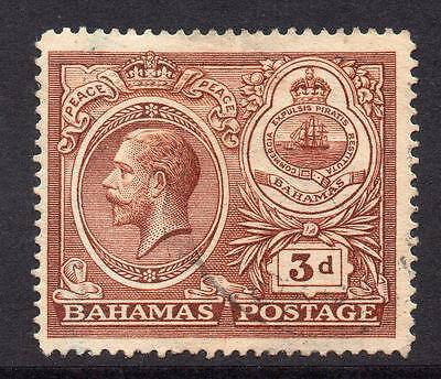 Bahamas 3d Stamp c1920 Used SG109