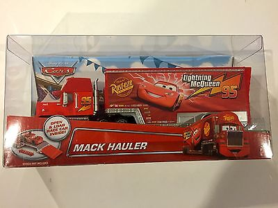 Disney Pixar Cars MACK HAULER Lightning McQueen Walmart Exclusive
