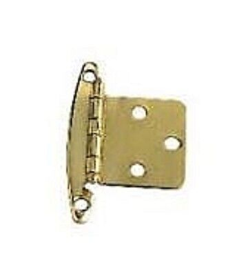 Brass Inset Hinges - Brass pair