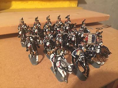 28 mm PERRY MINIATURES FRENCH NAPOLEONIC HEAVY CAVALRY CUIRASSIERS 1812-1815