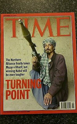 Time Magazine Vol 158 No 21 from 19th November 2001