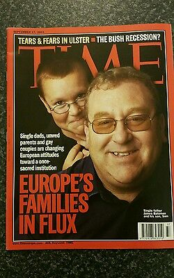 Time Magazine Vol 158 No 12 from 17th September 2001