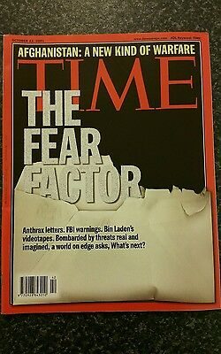 Time Magazine Vol 158 No 17 from 22nd October 2001
