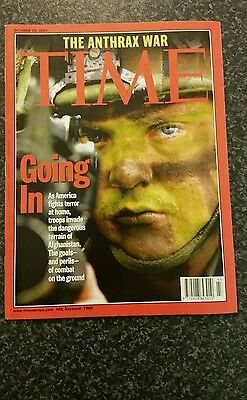Time Magazine Vol 158 No 18 from 29th October 2001