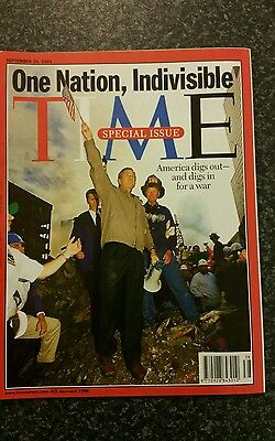 Time Magazine Vol 158 No13 from 24th September 2001