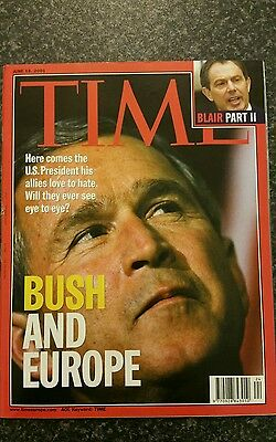 Time Magazine Vol 157 No 24 from 18th June 2001