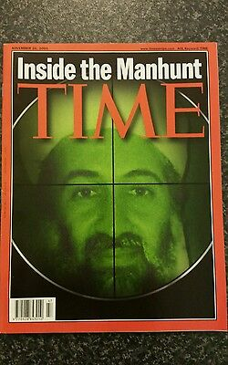 Time Magazine Vol 158 No 22 from 26th November 2001