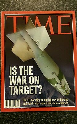 Time Magazine Vol 158 No 20 from 12th November 2001