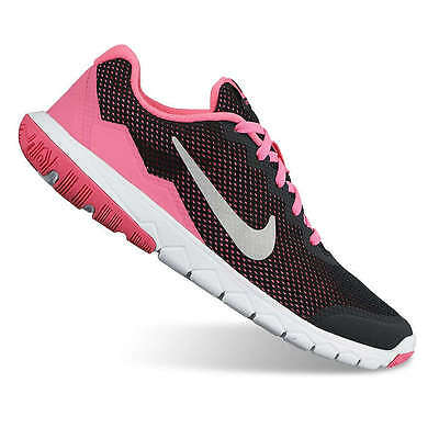 3698d6fa3a21 NIKE NEW SZ 5 6 Kid Girl Flex Experience 4 Running Shoes  65 ...