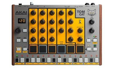 AKAI Tom Cat drummachine - Drumcomputer - analog - Neuware