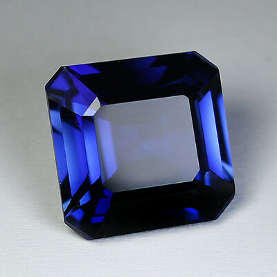 7.55Cts. Gorgeous Aaa Blue Sapphire Oct Loose Gemstone