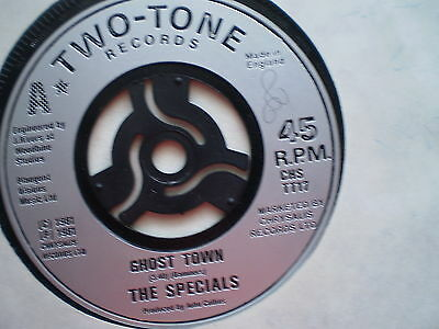 THE SPECIALS-GHOST TOWN -UK 7'' Single –1981-2-TONE-