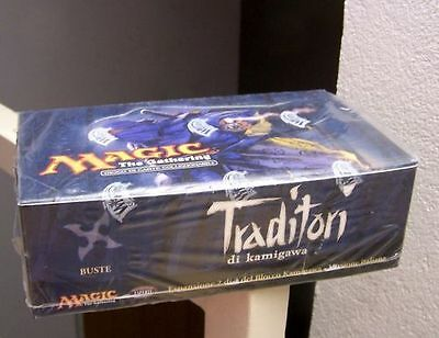 Magic Mtg Box Booster Traditori Di  Kamigawa Italiano Nuovo Sigillato 36 Bustine