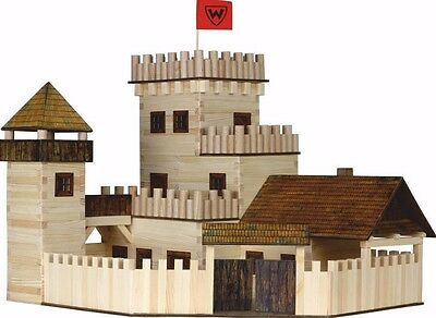 CHRISTMAS GIFTS FOR KIDS - The CASTLE (WALACHIA) 3D Wooden Construction Kit