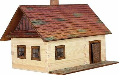 CHRISTMAS GIFTS FOR KIDS LOG COTTAGE (WALACHIA) 3D Wooden Model Construction kit