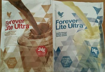 FOREVER LIVING 1X Aloe Vera Ultra Lite Vanilla or Chocolate £15.99 each
