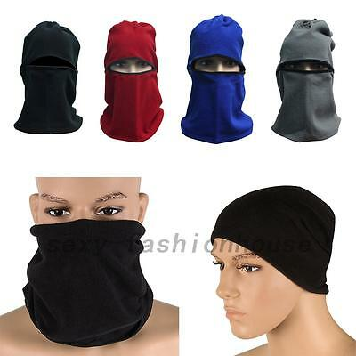 Motorcycle Neck Winter Ski Bike Cycling Full Face Mask Cap Hat Cover
