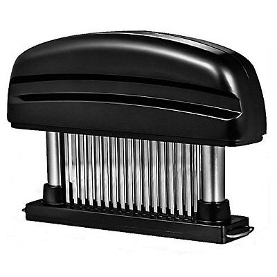 Latom 48 Stainless Steel Blades Meat Tenderizer Tool for Tenderizing Beef