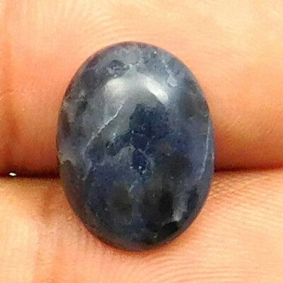 5.50 cts Natural Nice Sodalite Gemstone Oval Shape Loose Cabochon For Jewelry