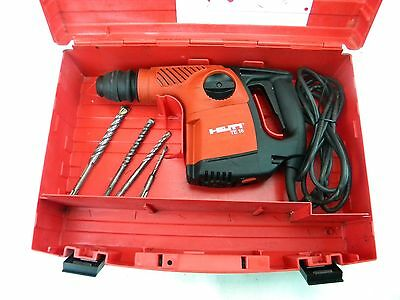 Hilti TE 16 Rotary Hammer Drill  with 4 Bits  (LF)