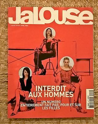 JALOUSE #41 french magazine April 2002 Ellen Von Unwerth THE GIRLS ISSUE