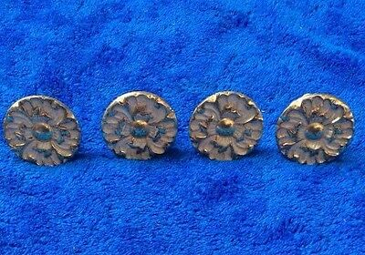 vintage metal drawer knobs