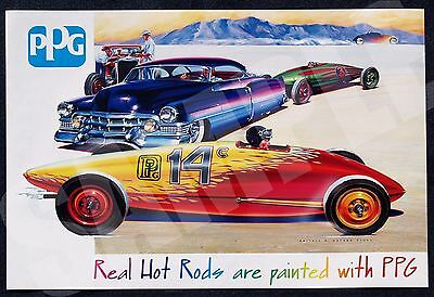 2007 PPG Industries Limited Edition Poster by Darrell D Mayabb
