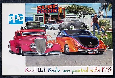 2010 PPG Industries Limited Edition Poster by Darrell D Mayabb