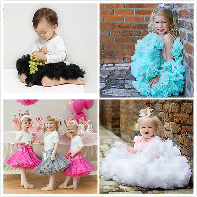 Girls Ballerina Petticoat Layers TUTU RARA Skirt Dress Dance 20 Colours 1-10YRS