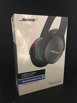 Brand New Sealed Bose QuietConfort 25 Noise Cancelling Headphones For Apple