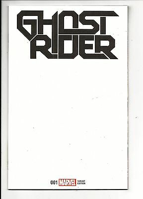 GHOST RIDER # 1 (Marvel Now! BLANK COVER VARIANT Jan 2017) NM NEW