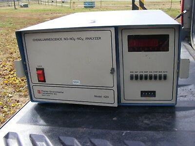 Thermo Environmental 42H NOX Analyzer See Pictures