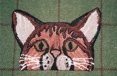 "Punchneedle Pattern by Country Threads  ""Pretty Kitty"""