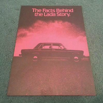 1979 1980 THE FACTS BEHIND THE LADA STORY - UK BROCHURE 1200 1300 1500 1600 Niva
