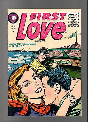 First Love Illustrated # 55    ( 1955 )    Harvey Pub.   Sharp Copy!