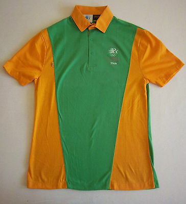Orig.Polo shirt   Olympic Games LOS ANGELES 1984 - Off.Staff Uniform / GREEN  !!