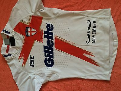 England Rugby League Player Issue Shirt 2012 Movember Leeds Wigan St Helens