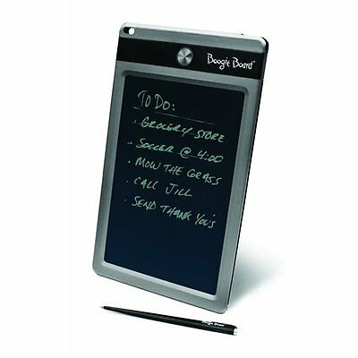 "Genuine Boogie Board LCD eWriter 8.5"" Paperless eWriter Stylus NEW- Black Only"