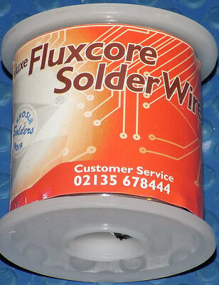 FLUXCORE 18 SWG Solder Wire Reel 40/60 (Sn/Pb) BRAND NEW & SEALED