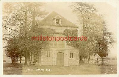 Real Photographic Postcard Of Oxhey Chapel, (Near Watford), Hertfordshire