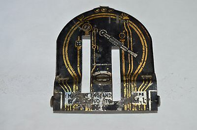 Hornby M1 Control Plate O Gauge