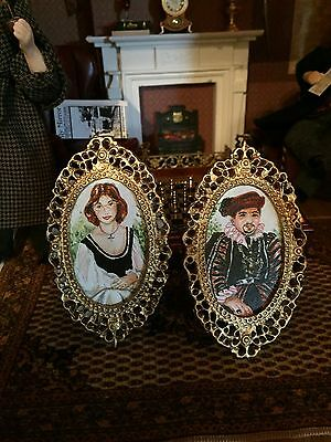 Doll House Painting Handpainted Art tudor angela daniel 2003 Picture
