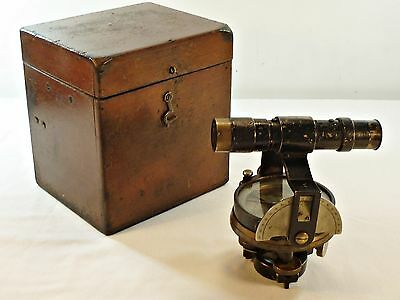 Antique Cooke Troughton & Simms Expedition Level Rare with Compass Dial & Box