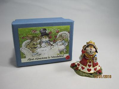 Wee Forest Folk Limited Edition The Queen of Hearts - Retired - In Special Box