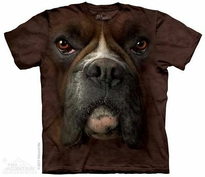 The Mountain Gorgeous Boxer Dog T Shirt Size X Large Age 12 -14 Years Brand New