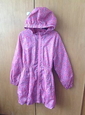 Floral Parka Age 9 - 10 Years, Very Pretty