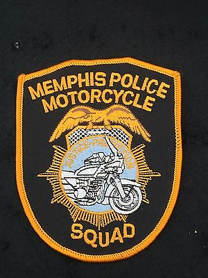 Memphis Police Motorcycle Squad original Police patch