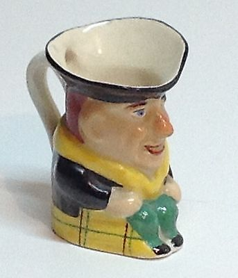 Small Toby Jug Chip on Hat Rim