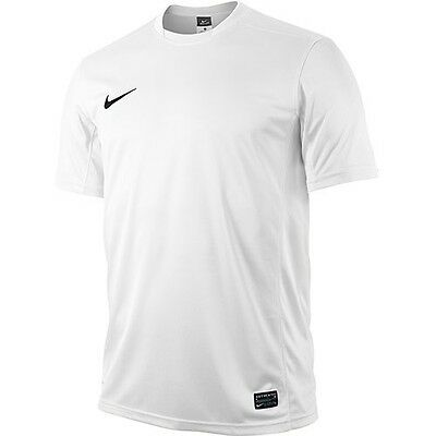 NIKE Park V,, white/black, short sleeve t-shirt, jersey, men's