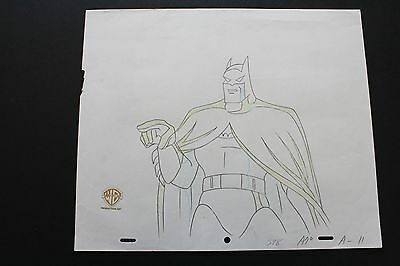 Original Animation Production Drawing From Batman: The Animated Series